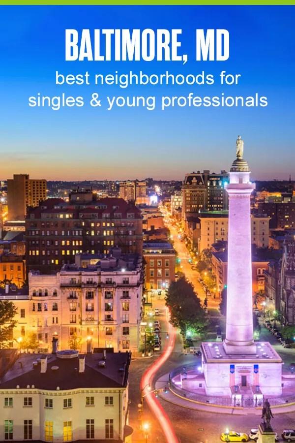 Best Neighborhoods for Singles & Young Professionals in Baltimore
