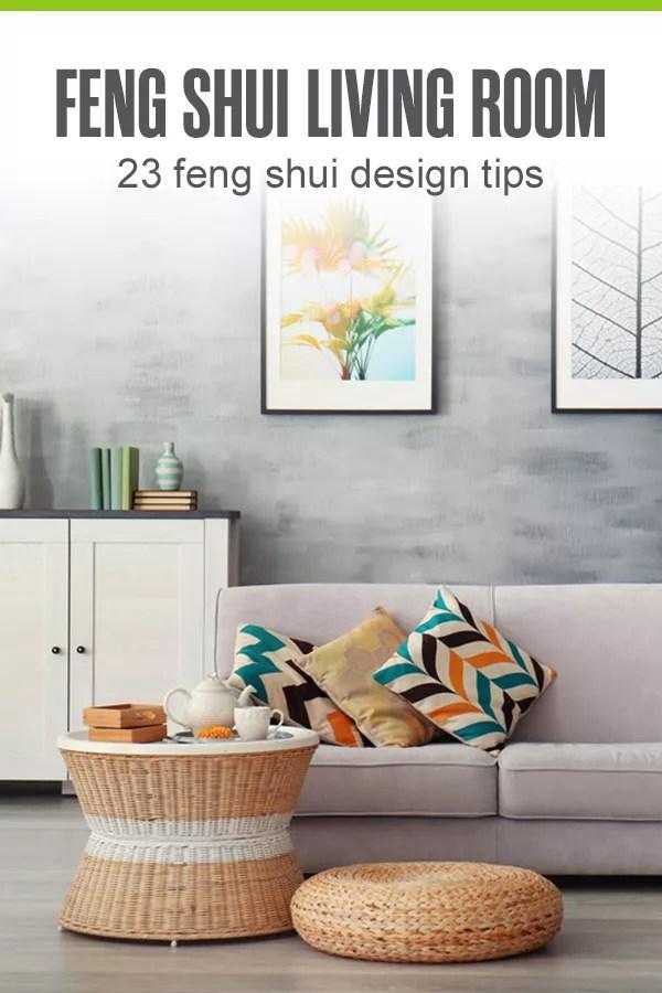 Feng Shui Living Room Design Tips