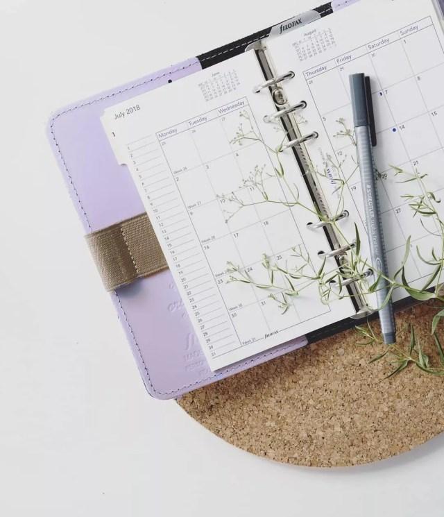 Daily Planner. Photo by Instagram user @poseandponder