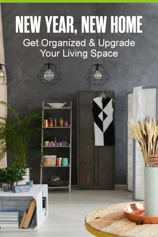 Organize Your Home for the New Year