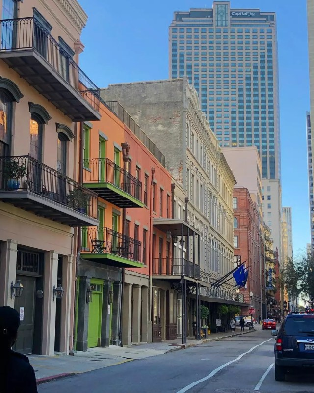 Central Business District in NOLA. Photo by Instagram user @nayemaa