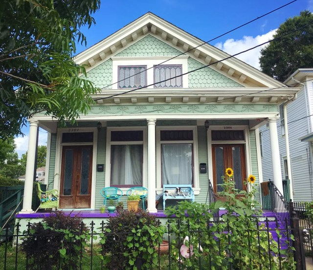 House in Freret, NOLA. Photo by Instagram user @the.preservationist
