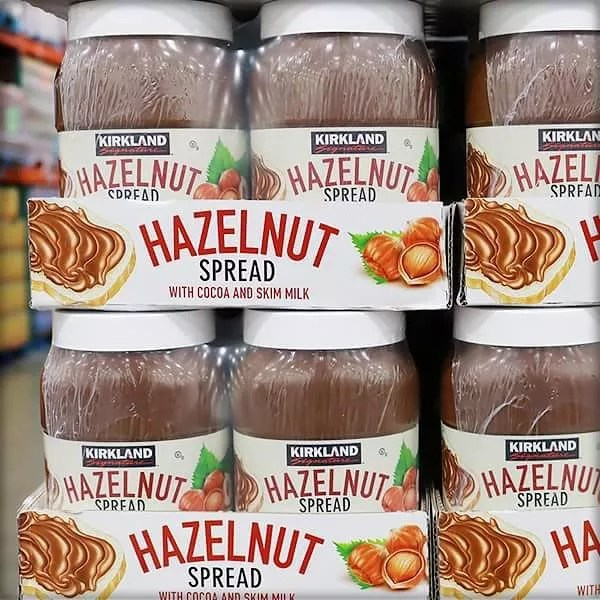 Giant Jars of Hazelnut Spread for Bulk Purchases. Photo by Instagram user @costco