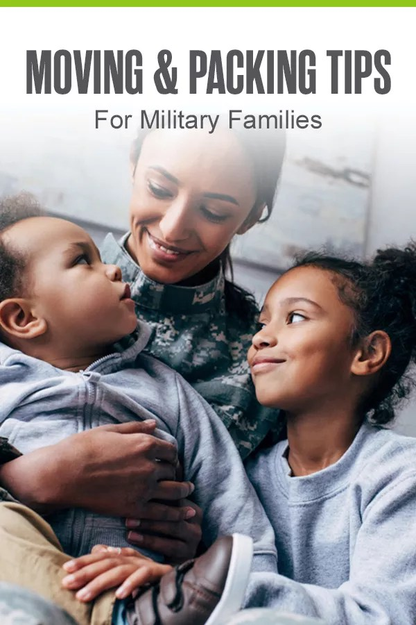 Moving & Packing Tips for Military Families