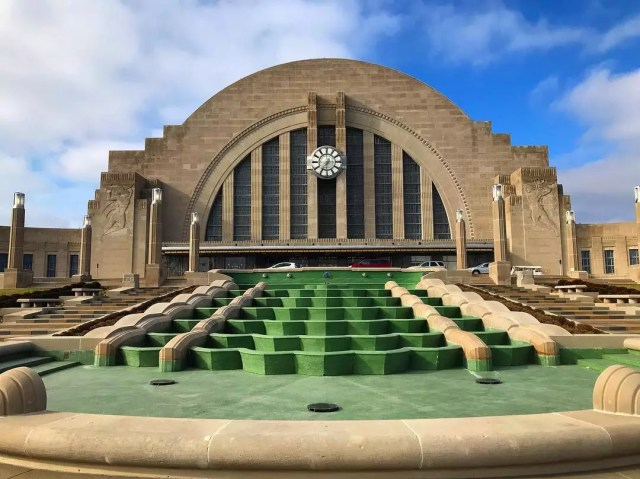 Union Terminal at the Cincinnati Museum in Ohio. Photo by Instagram user @cincymuseum