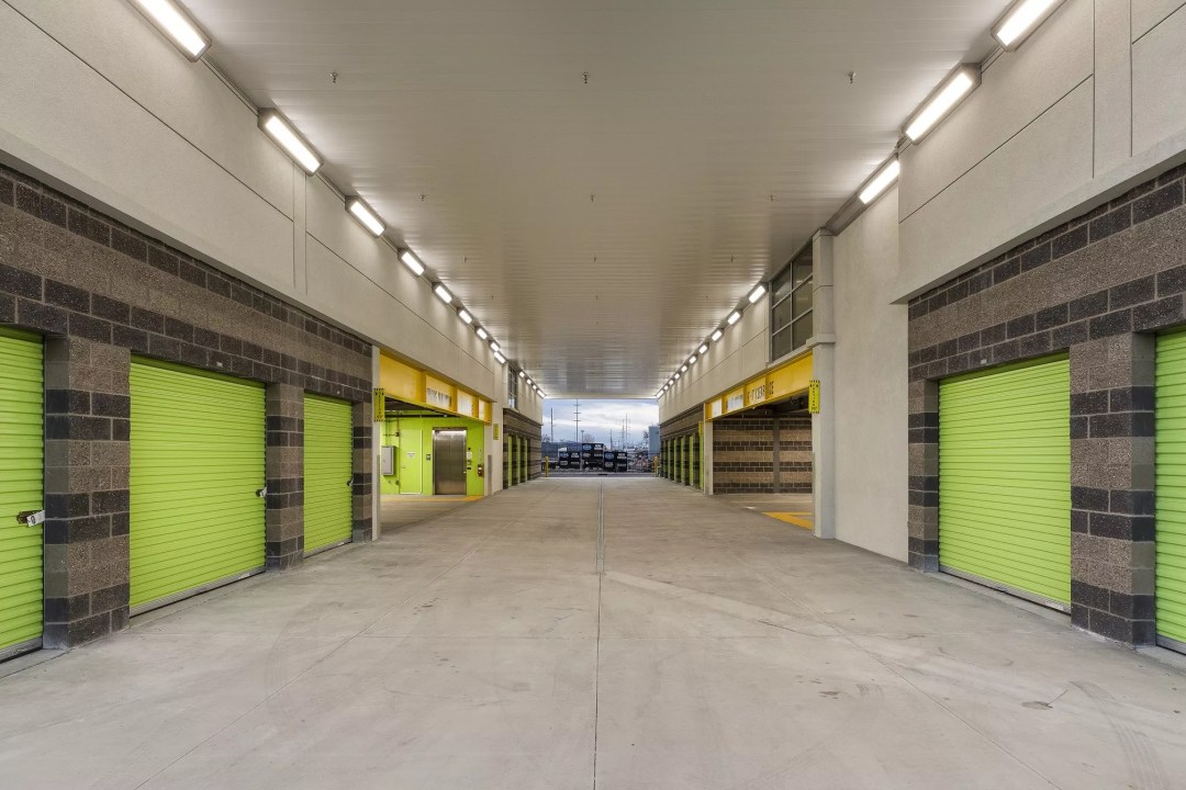 Interior of Extra Space Storage facility in Murray, UT