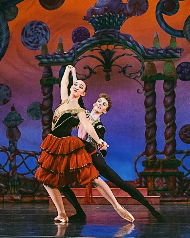 ballet performance at The Hanover Theater and Conservatory in Worcester, MA photo by Instagram user @seanquinn123