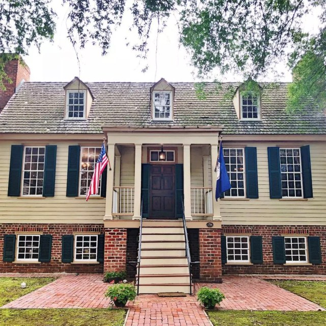 Colonial Style home in Three Chopt, Richmond photo by Instagram user @coxrealestategroup