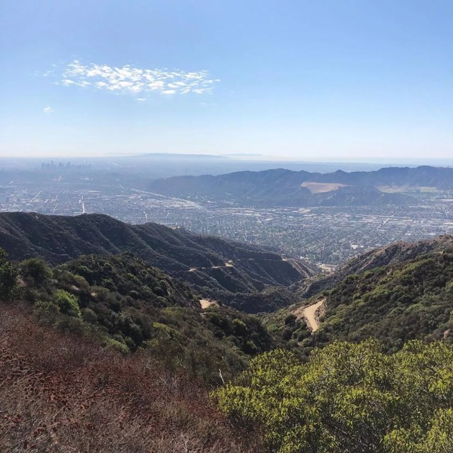 View of the Mountains in Glendale, Los Angeles, CA. Photo by Instagram user @myglendale