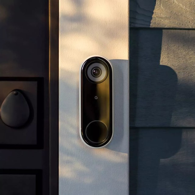Google Nest Smart Doorbell. Photo by Instagram user @googlenest