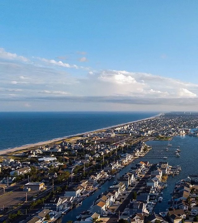 View of the Coast in Toms River, NJ. Photo by Instagram user @mikebarronvisuals