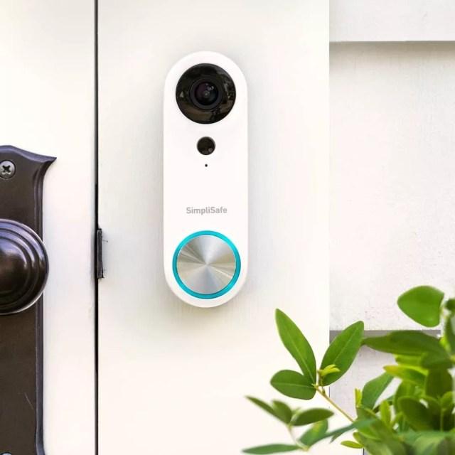 SimpliSafe Camera Doorbell. Photo by Instagram user @simplisafe