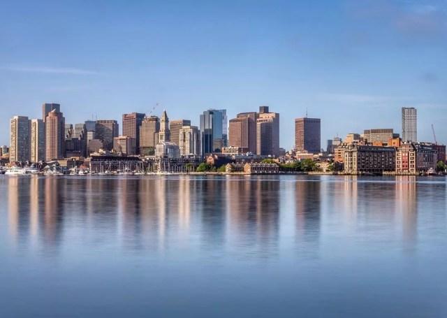View of Downtown Boston, MA. Photo by Instagram user @newenglandgirrl