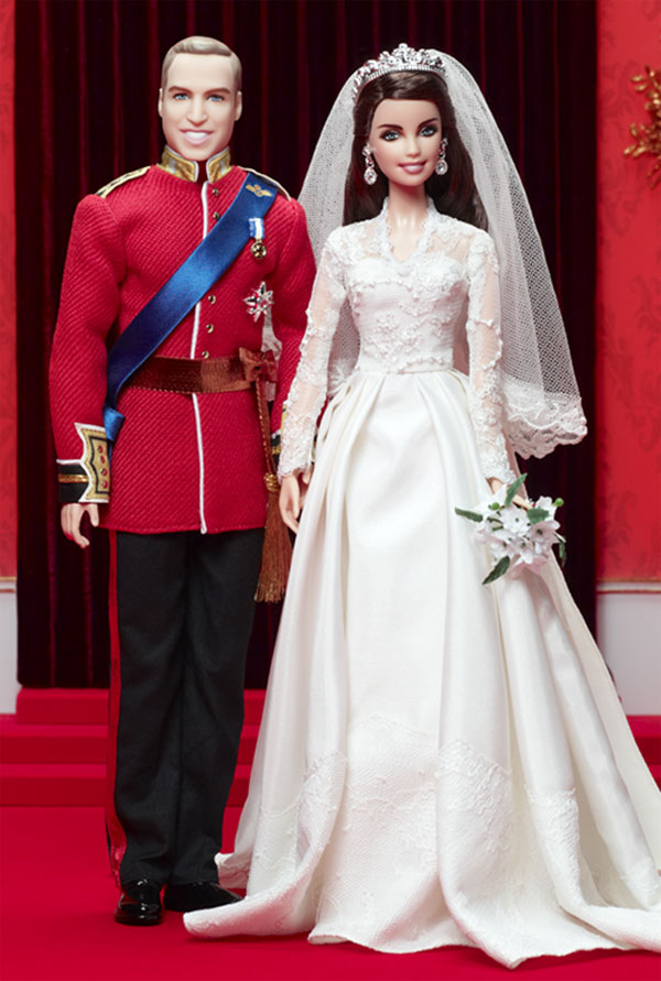 Mattels Prince William And Kate Middleton Royal Wedding Dolls Set For Release EXtravaganzi