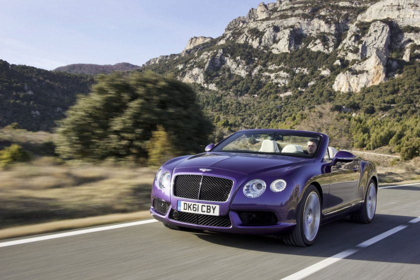 The Continental GT V8 Convertible