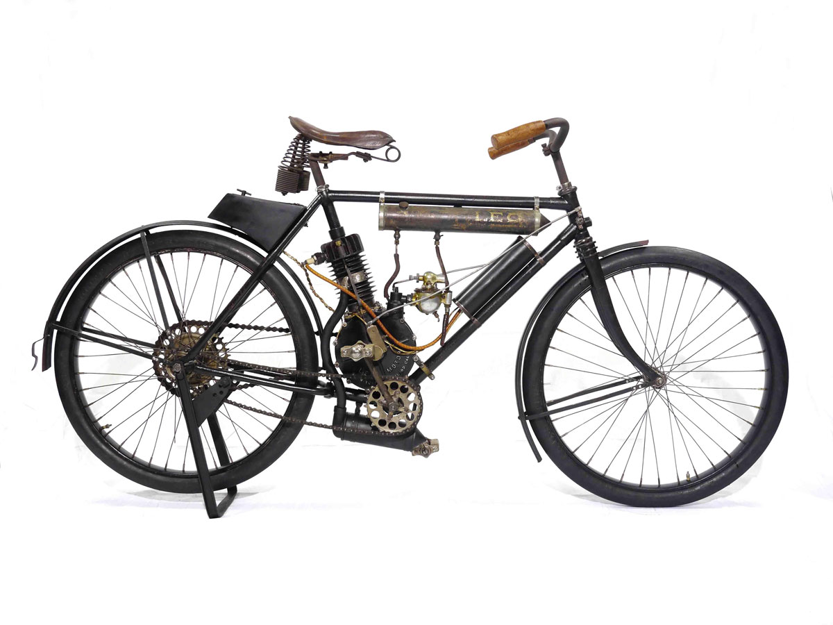 Sole Surviving Example Of Leo Two Cycle At Bonhams