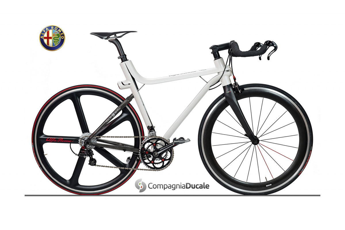 Alfa Romeo 4c Ifd Bicycle