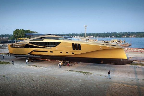 Luxury Charter Yacht - Palmer Johnson Yachts' Golden 48M ...