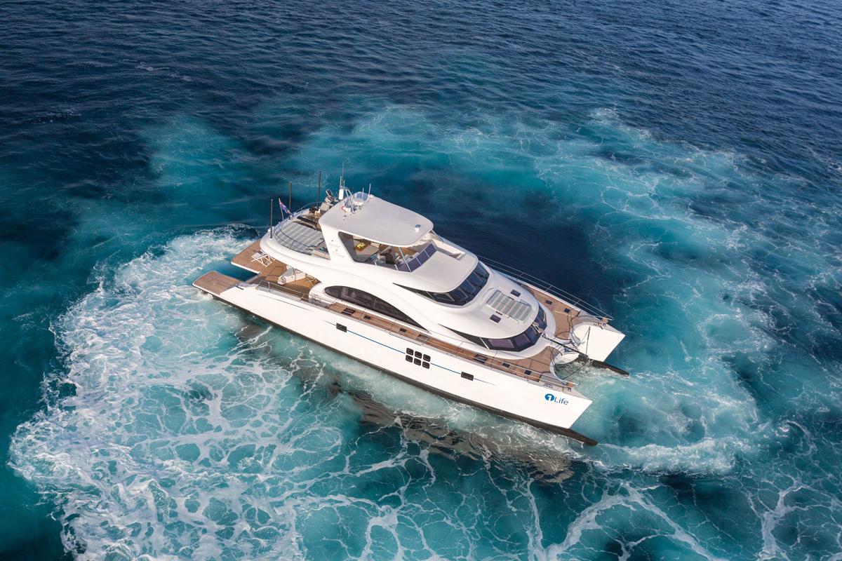 The Gallery For Gt Luxury Catamaran Interior