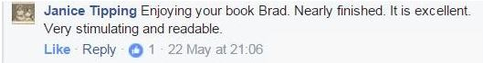 Janice Tipping's facebook comment