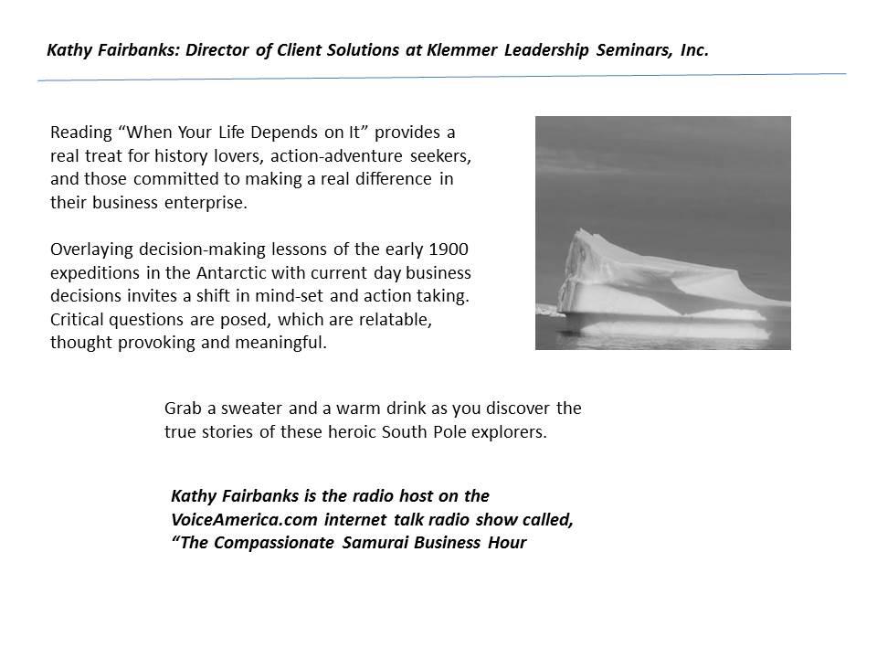 Kathy Fairbanks testimonial