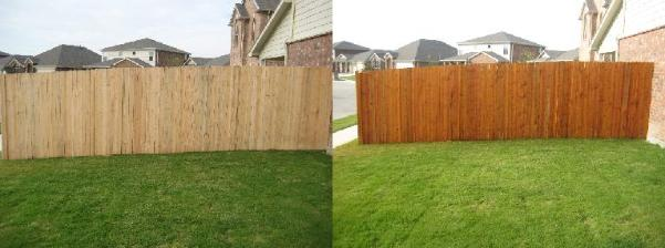 Power Wash Fence in Chicago Area