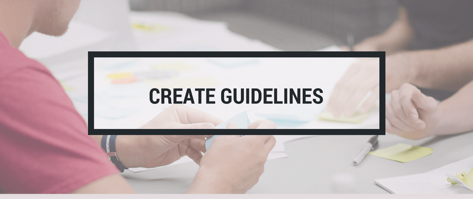 create guidelines
