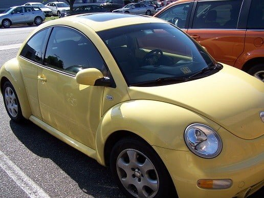 2003 Vw Beetle Window Tint Tint Richmond Mechanicsville