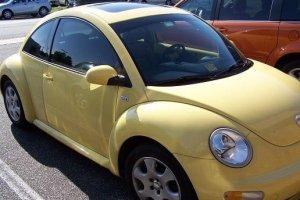 2003 VW Beetle Window Tint