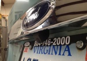Ford Escape Backup Camera