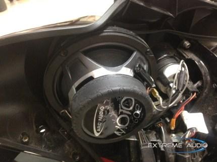 Harley Street Glide Speaker Upgrade