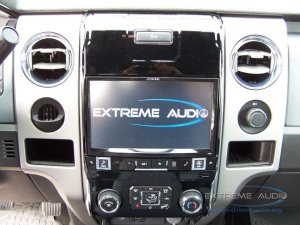 Ford F150 Alpine Radio Upgrade