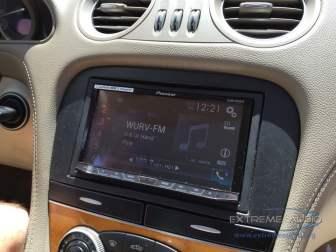 Mercedes SL500 Navigation