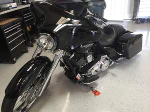 Harley Street Glide audio upgrades