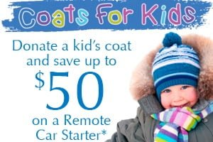 Extreme Audio is Proud To Announce Our 6th Annual Coats For Kids Drive