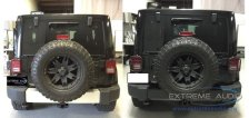 Jeep Wrangler Audio and Steps