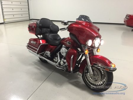 Harley Electra Glide Stereo