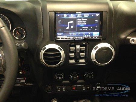 mechanicsville jeep wrangler gets backup camera and navigation. Black Bedroom Furniture Sets. Home Design Ideas