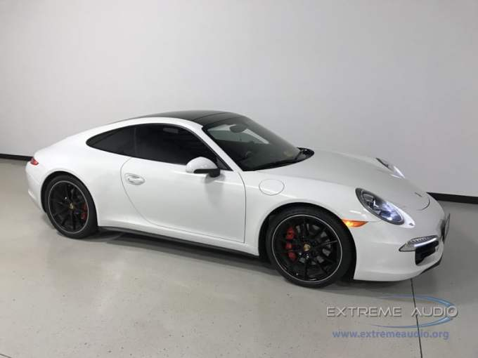 Porsche Carrera 4s Backup Camera