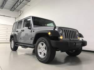 Jeep Wrangler Unlimited Accessory Upgrades for Midlothian Client