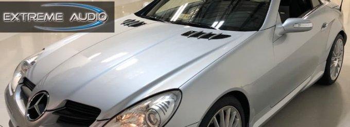 Mercedes SLK55 Audio