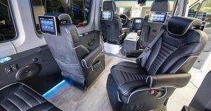 Ford Transit Mercedes Sprinter and Ram ProMaster Van Upgrades