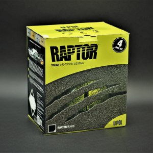 UP0820 - Raptor Spray-On Bedliner 4-Liter Kit (Black)