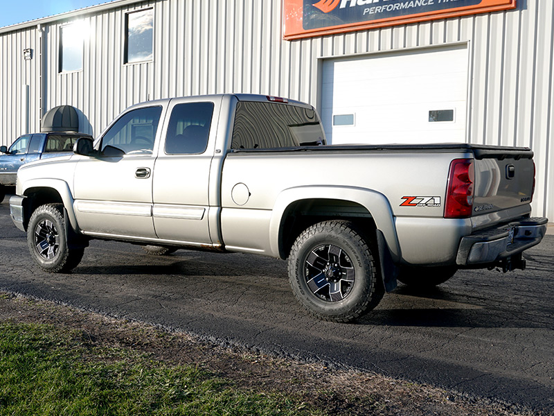 2003 Chevrolet Silverado 1500 16x8 Ballistic