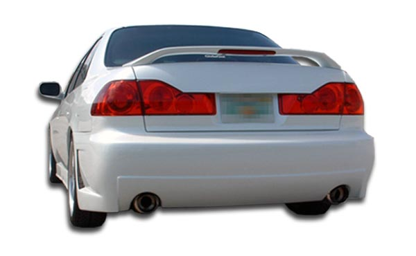 rear bumper body kit for 2000 honda accord 4dr 1998 2002 honda accord 4dr duraflex b 2 rear bumper cover dual exhaust 1 piece