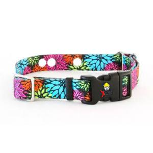Dog Training Collar Strap - Flowers