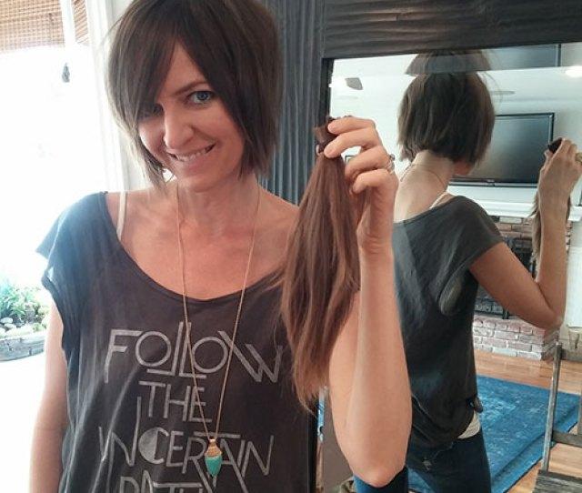 Kate Cutting Her Hair