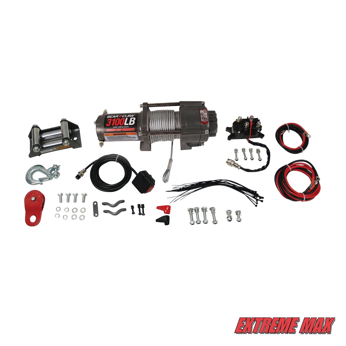 Extreme Max Complete Lb Winch Amp Quick Release Kit For Atv Utv