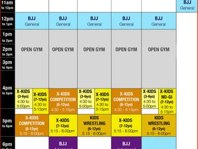Our Time Table