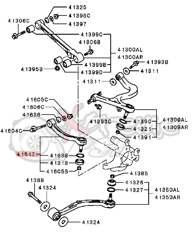 2003 Mitsubishi Galant Steering Diagram